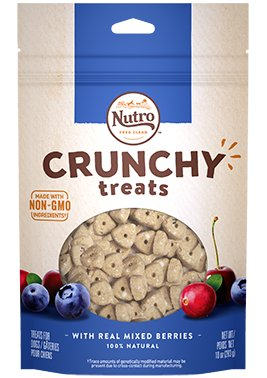 NUTRO PRODUCTS  INC. Nutro Crunchy Blueberry Treat 12oz