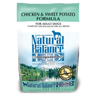 NATURAL BALANCE L.I.D. Limited Ingredient Diets Chicken & Sweet Potato Dry Dog Formula 13LB