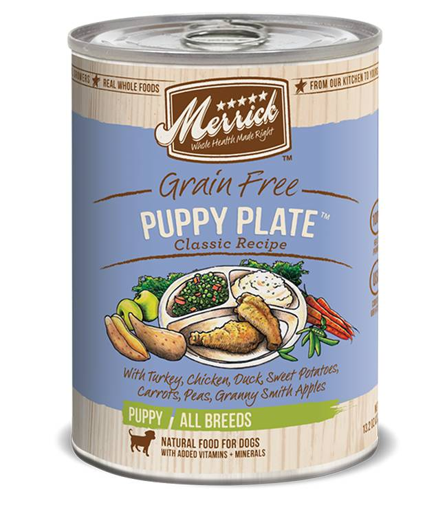 Merrick Merrick Classic Puppy Plate 12.7oz Grain Free Canned Dog Food