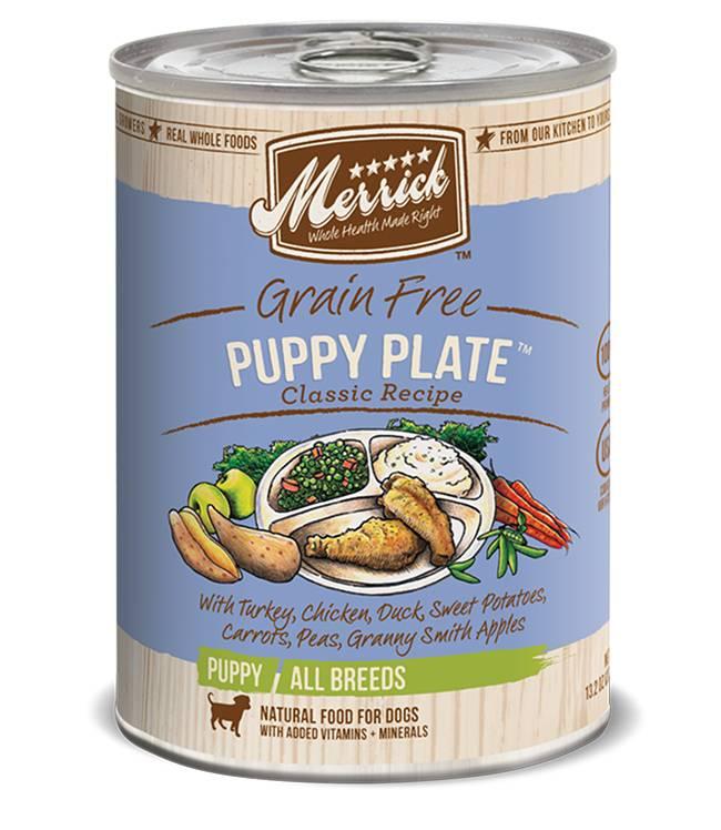MERRICK PET CARE, INC. Merrick Classic Puppy Plate 12.7oz Grain Free Canned Dog Food