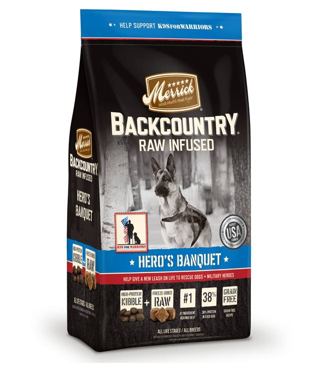 Merrick Merrick Back Country Hero Banquet 4lb