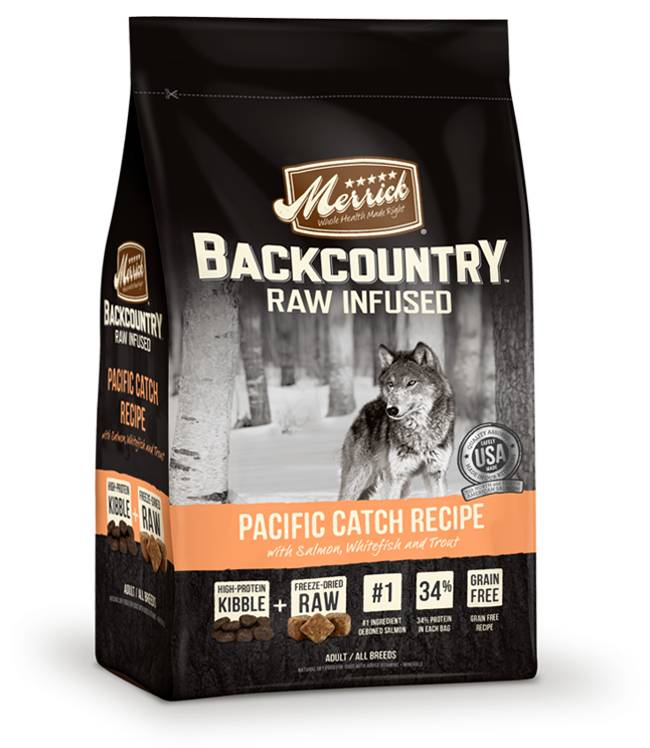 Merrick Merrick Back Country Grain Free Pacific Catch Dog Food 12lb