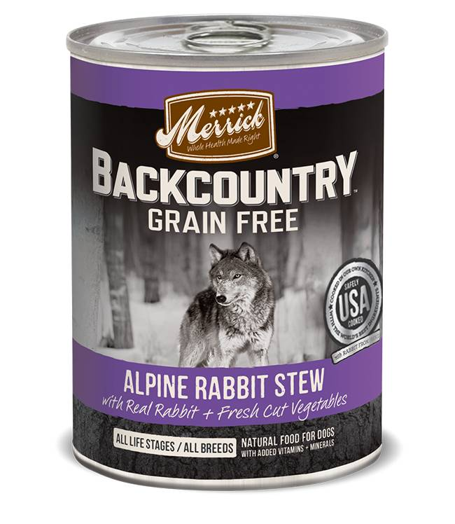 Merrick Merrick Backcountry Alpine Rabbit Stew-Dogs 12.7oz