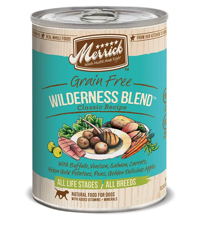 Merrick Merrick Classic Wilderness Blend Dog Food Can 13.2oz