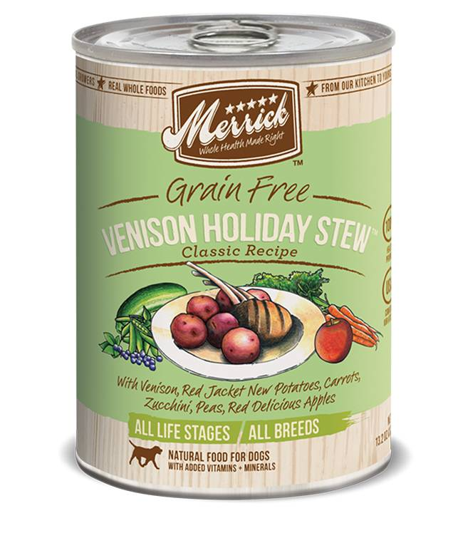 Merrick Merrick Classic Venison Holiday Stew Dog Food 13.2oz