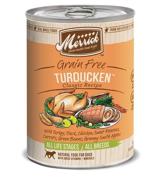 Merrick Merrick Classic Turducken 13.2oz Grain Free Canned Dog Food