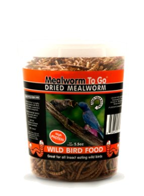 UNIPET USA Mealworm to Go-5.5oz Tub
