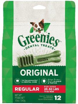 GREENIES Greenies Mint Original Dental Dog Treats 12oz
