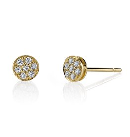 Diamond Rose Cut Studs