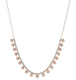 Diamond Pyramid Choker