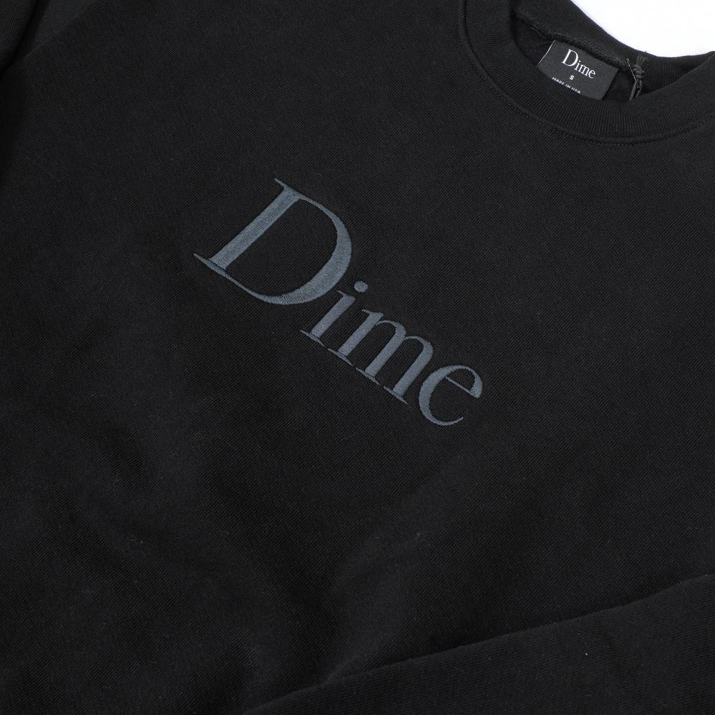 Dime MTL Dime // Classic Embroidered Crewneck