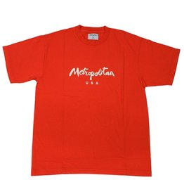 Metropolitan USA Classic Logo T-Shirt