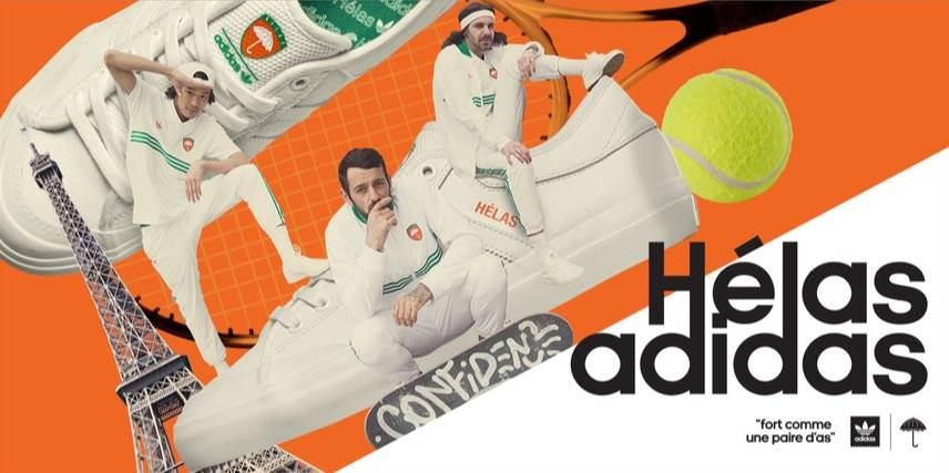 Helas X Adidas collection