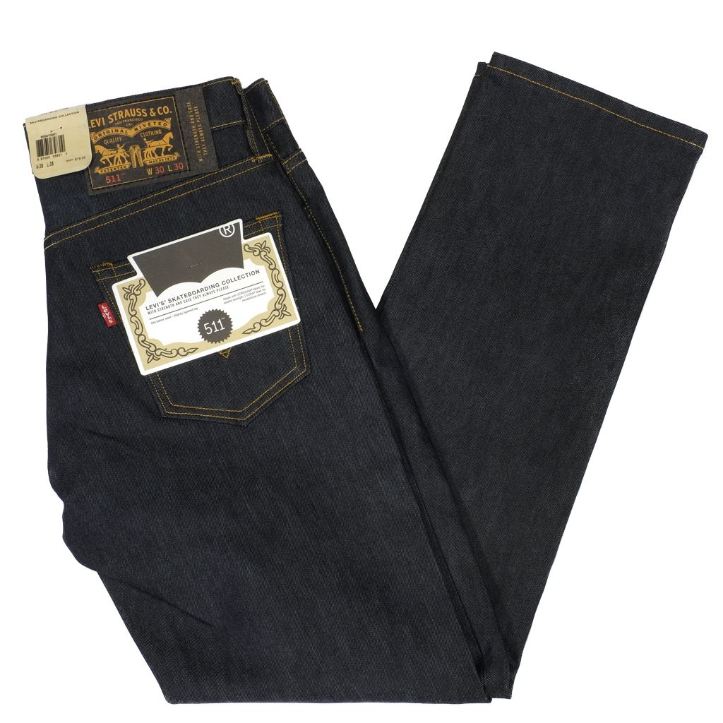 5543ca8c422 Levi s Skateboarding    511 Slim Rigid Indigo - Homegrown Skateshop