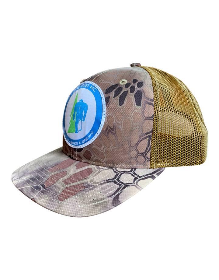 Squatch Brand Squatch Patch Logo Hat