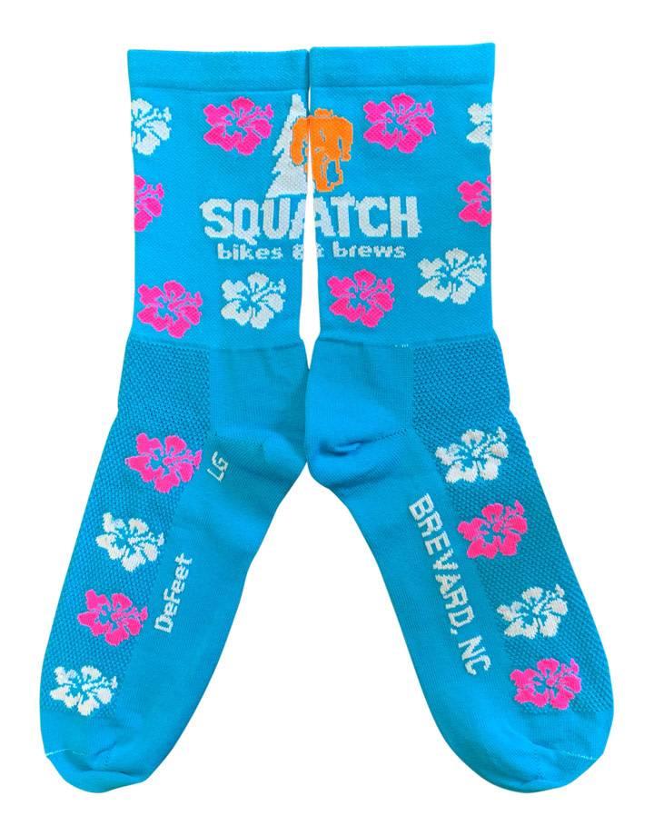 Squatch Brand Squatch Defeet Aireator Logo Sock