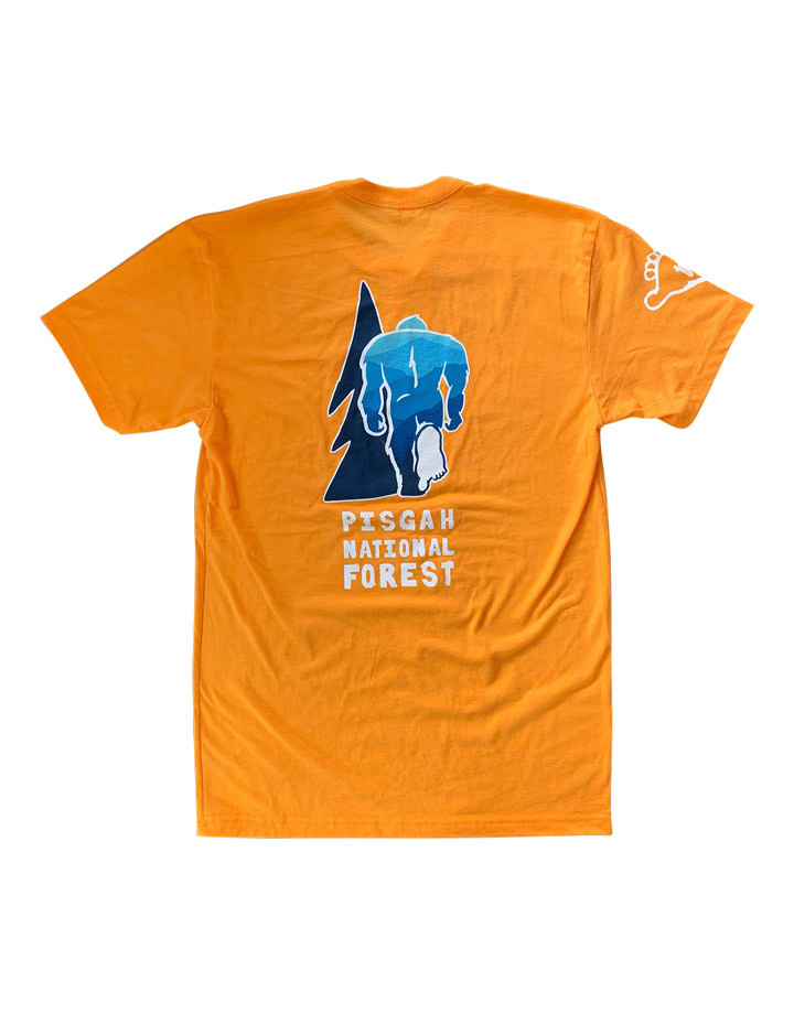 Squatch Brand Squatch Pisgah National Forest T-Shirt