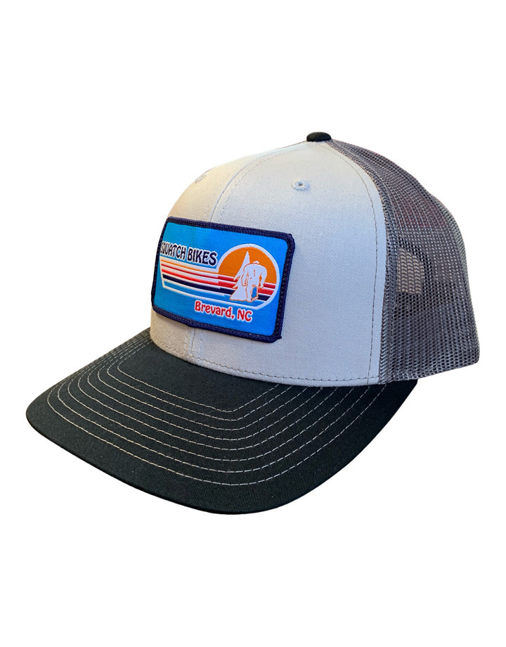 Squatch Brand Squatch Sunset Patch Mesh Hat