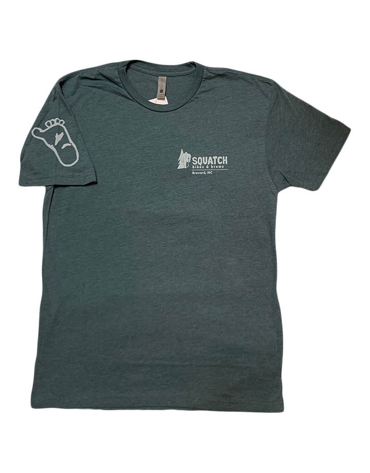 Squatch Brand Squatch USA Logo T-Shirt