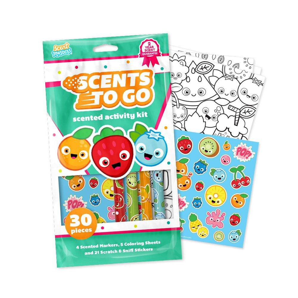 Scents To Go with Markers Activity Kits
