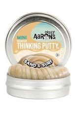 Crazy Aaron's Thinking Putty Small Tin - Sand & Surf