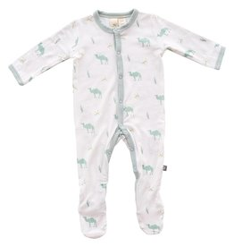 Kyte Baby Layette, Printed Footie in Desert
