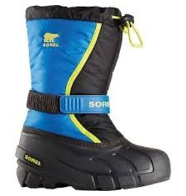 Sorel Children Flurry - Black, Super Blue
