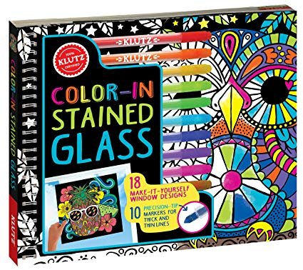 Klutz Colour-In Stained Glass