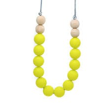 """Glitter & Spice Silicone Teething Necklace - Willa - Adult 32"""""""