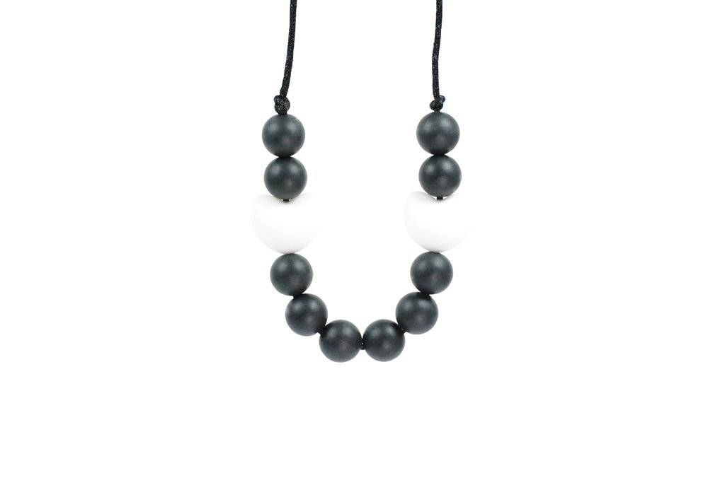 Glitter & Spice Kids Silicone Teething Necklace - Coco