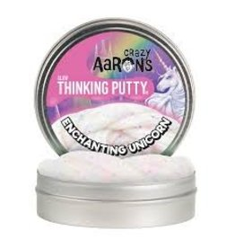 Crazy Aaron's Thinking Putty Enchanting Unicorn Glow in the Dark