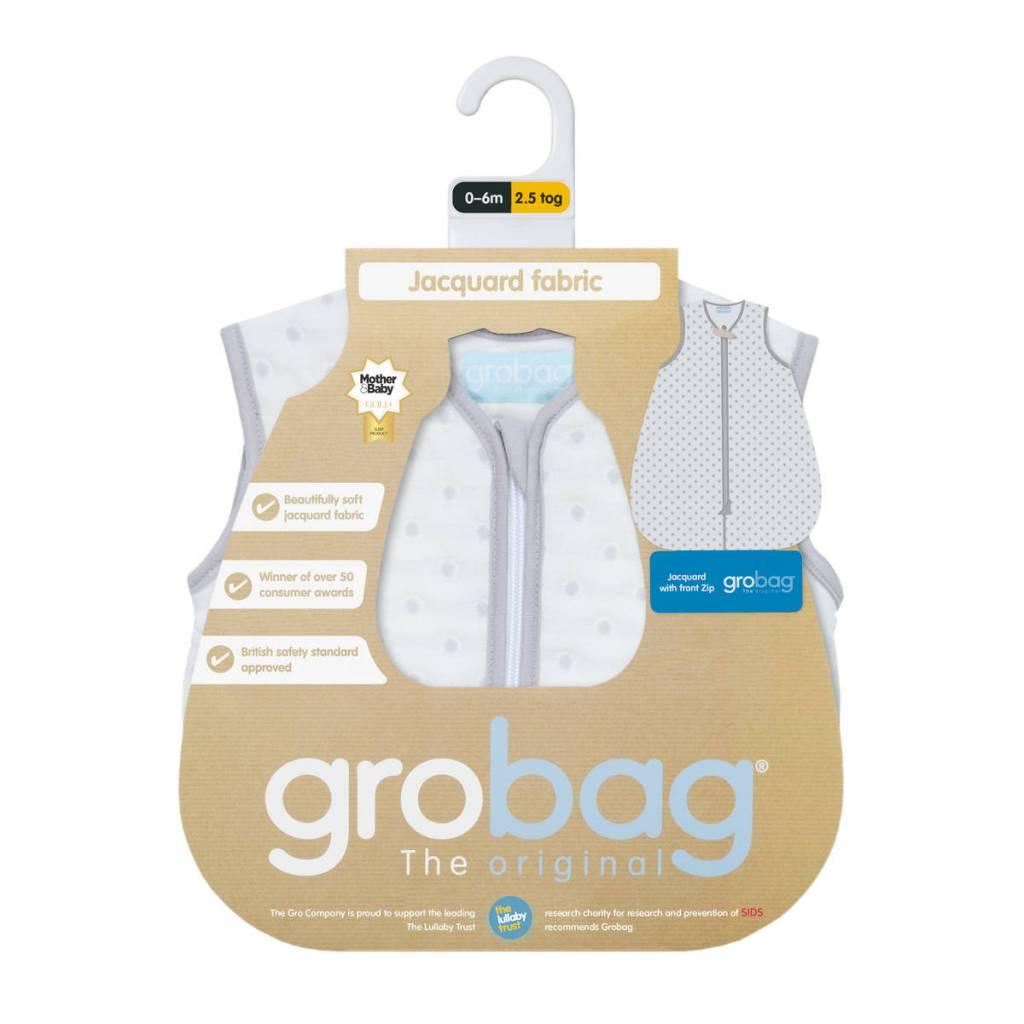 The Gro Company Jacquard Grey Circles 2.5 Tog