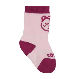 Kombi The Baby Animal Infant's Sock Framboise