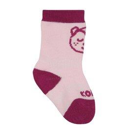 Kombi The Baby Animal Infant's Sock Framboise