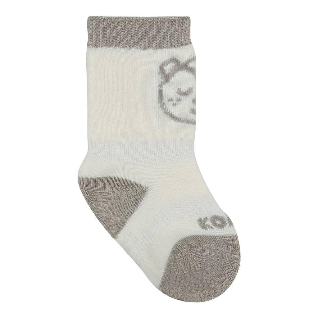 Kombi The Baby Animal Infant's Sock White