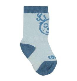 Kombi The Baby Animal Infant's Sock Ballad Blue