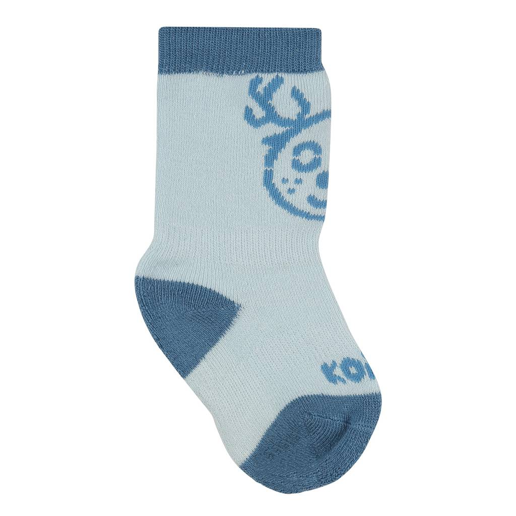 Kombi The Baby Animal Infant's Sock Ballad Blue