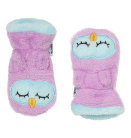 Kombi The Plush Animal Soft Infant's Mitt Owl