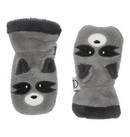Kombi The Plush Animal Soft Infant's Mitt Raccoon