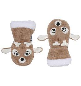 Kombi The Plush Animal Soft Infant's Mitt Fawn