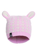 Kombi The Cutie Animal Ears Infant's Beanie Pink Lavender