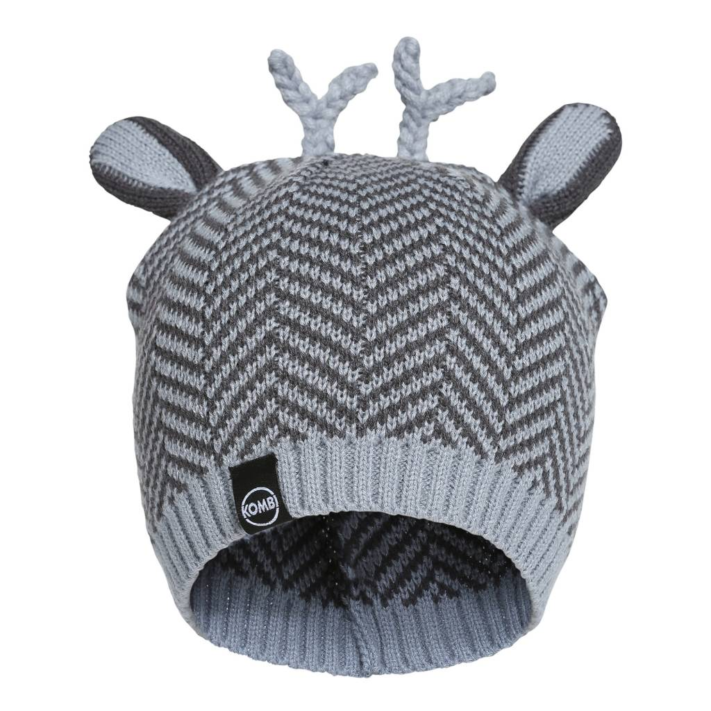 Kombi The Cutie Animal Ears Infant's Beanie Sleet