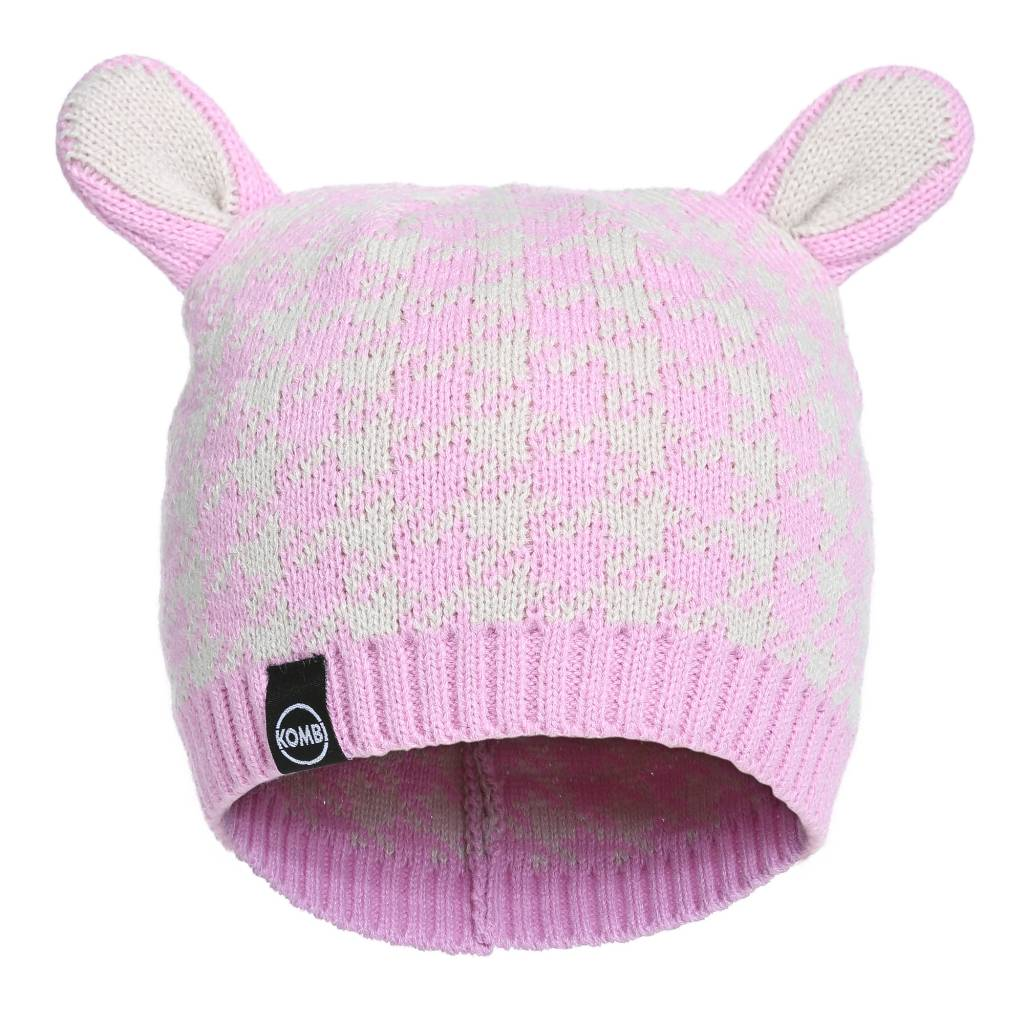 Kombi The Cutie Animal Ears Beanie Children's Pink Lavender