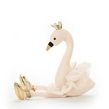 Jellycat Fancy Swan - Medium