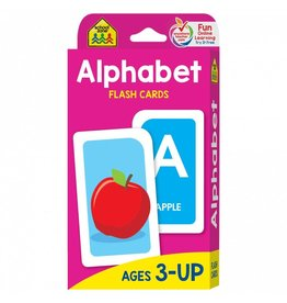 School Zone Publishing Company Alphabet Flash Cards