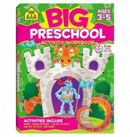 School Zone Publishing Company Preschool Activity Workbook