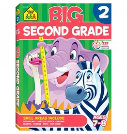 School Zone Publishing Company Big Second Grade Workbook