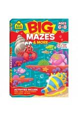 School Zone Publishing Company Big Mazes & More