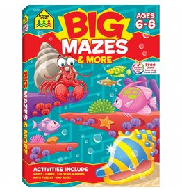 School Zone Publishing Company Big Mazes & More