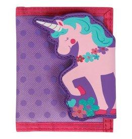 Stephen Joseph Unicorn Wallet in Purple